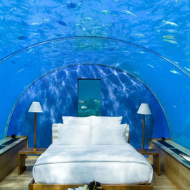 Maldives - Underwater Hotel Room