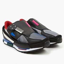 Adidas Originals x Raf Simons - Men's Black Rising Star 2 Sneakers
