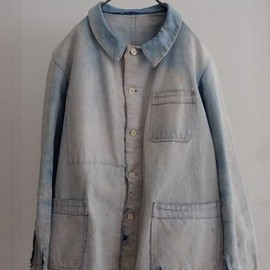 LILY1ST VINTAGE - 1920's vintage french gradation moleskin coverall