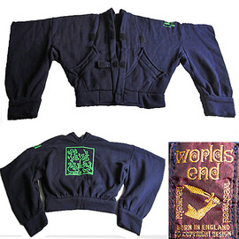 "WORLDS END, VIVIENNE WESTWOOD, Malcolm Mclaren - 80's Vivienne Westwood / Malcolm Mclaren ""Worlds end"" Keith Haring Kimono Jacket"