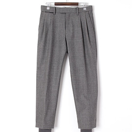 TOGA VIRILIS - highland wool rib trousers