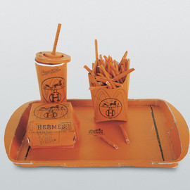 Tom Sachs - Hermès Value Meal, 1997