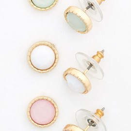 Modcloth - Pastel Perfection Earring Set