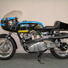 Nz classic motorcycles - Norton Kiwi Cafe