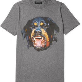 GIVENCHY - Givenchy Rottweiler-Print Cotton-Jersey T-Shirt