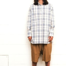 UNUSED - Check pull-over long shirt