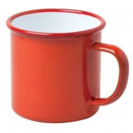 FALCON - Enamel Red Mug