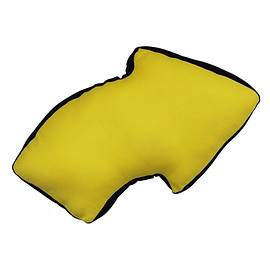 YELLOW HAMMER - ARROW CUSHION-YELLOW
