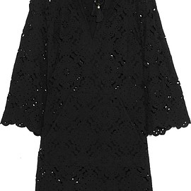 Zimmermann - Good Times hooded broderie anglaise cotton dress