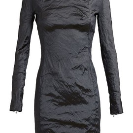 Carven - Metallic Long Sleeve Dress