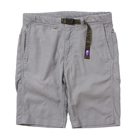 THE NORTH FACE PURPLE LABEL - Cotton Linen Webbing Belt Shorts
