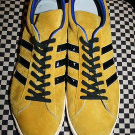 adidas - super star  gold suede made in france