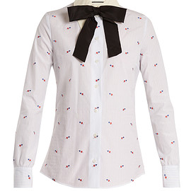 GUCCI - Heart fil coupé cotton shirt