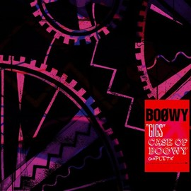 """BOOWY - """"GIGS"""" CASE OF BOOWY COMPLETE"""