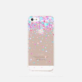 bycsera - iPhone 6s Case Clear Hearts iPhone 6s Plus Case TPU iPhone 6 Plus Clear Hearts iPhone Case