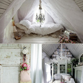 Shabby Chic - Bed