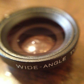 Wide angle lens for iPhone4/S