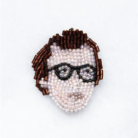 Marianne Batlle - Small Brooches- Woody Allen