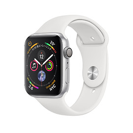 Apple - WATCH SERIES 4: Aluminum Case with Sport Band