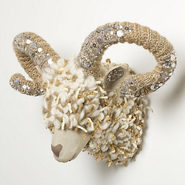 Anthropologie - Winter Dream Ram Bust
