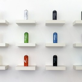 Antonio Brasko - Fashion Branded Spray Paint Cans