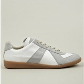Maison Martin Margiela - Maison Martin Margiela | 22 Mens White Replica Low Top Leather Sneakers
