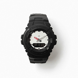 CASIO, fragment design - G-SHOCK THE POOL G-100-1BMJF (WHITEFACE)
