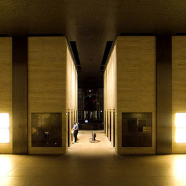Mies van der Rohe - Lobby, Seagram Building, New York