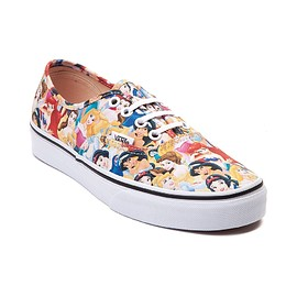 Vans, Disney - Vans Authentic Disney Multi Princess Kids