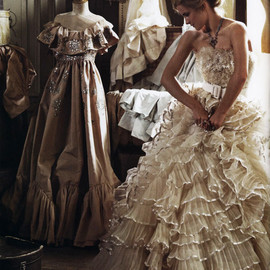 Christian Dior - Emma Watson in Italian Vogue