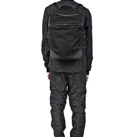 ALEXANDER WANG - WALLIE BACKPACK IN BLACK NEOPRENE MATTE BLACK