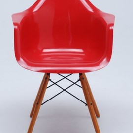 reac JAPAN - Design Interior Collection 2/3スケール Mini Chair AS レッド