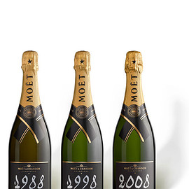 Moët & Chandon - Grand Vintage Trilogy 1988, 1998, 2008