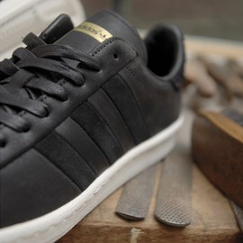 adidas originals, Size? - Hook Shot Low - Black/Gold/White?