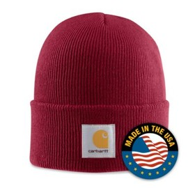 Carhartt - ACRYLIC WATCH HAT (Independence Red)