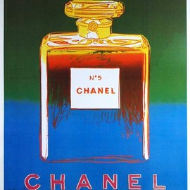 Andy Warhol - Chanel Poster