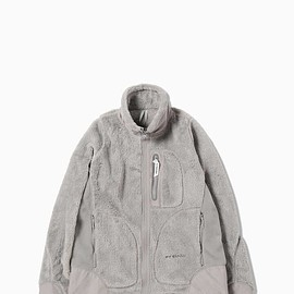 and wander - high loft fleece jacket in gray