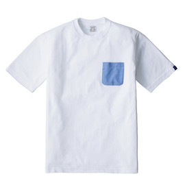 LOOPWHEELER - LW Tee Oxford pocket Tee