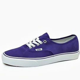 VANS - AUTHENTIC (SUEDE-CORDUROY) HELIOTROPE/TRUE WHITE
