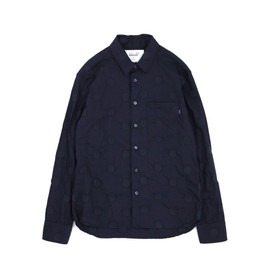 UNTOLD - 50S Broad Dot Ls Shirts
