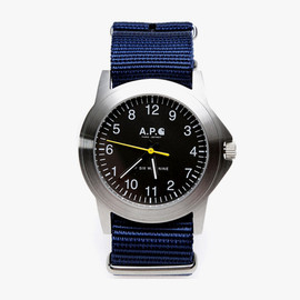 A.P.C. - A.P.C. for Carhartt Military Watch