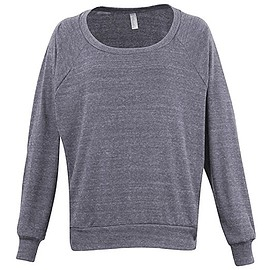 American Apparel - Lightweight Tri-Blend Pullover