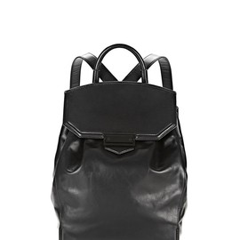 ALEXANDER WANG - PRISMA SKELETAL BACKPACK IN BLACK WITH MATTE BLACK