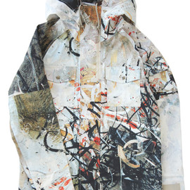 bal - Event Mountain Parka Textile Art by JOSE PARLA