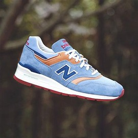 New Balance - NEW BALANCE M997DOL LIGHT BLUE/NATURAL