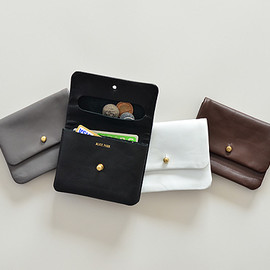Alice Park - Half Single Flap Wallet