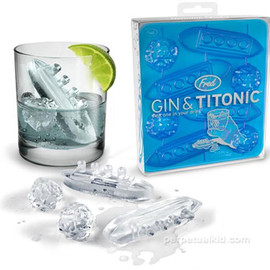 Fred and Friends - GIN AND TITONIC ICE CUBES