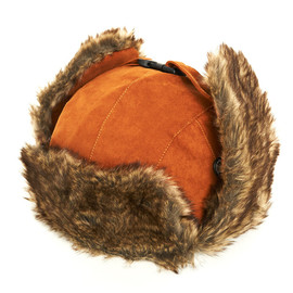 bal - FAUX SUEDE TROOPER HAT