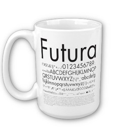 Graphic Design_Fonts_02 Coffee Mugs by ZunoDesign