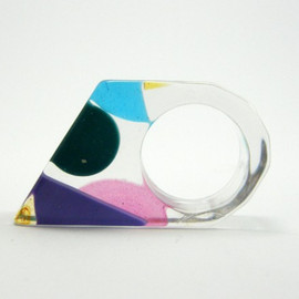 sisicata - Funky Resin Ring